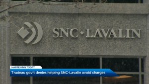 Trudeau denies helping SNC-Lavalin avoid charges